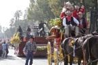 Wells Fargo Stagecoach leading 2018 Rose Parade Closing Show presented by Wells Fargo. (Photo: Business Wire)
