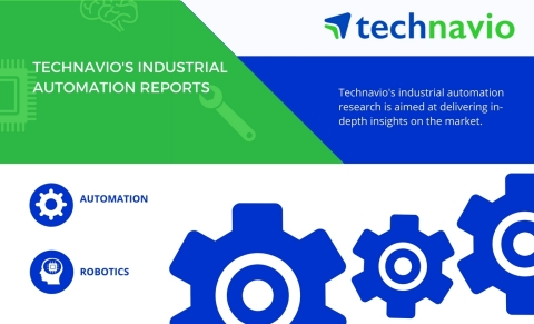 Technavio has published a new market research report on the global industrial robot vision systems market 2017-2021 under their industrial automation library. (Graphic: Business Wire)