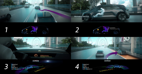 Hyundai Mobis will unveil the latest life-saving DDREM (Departed Driver Rescue & Exit Maneuver) tech ...