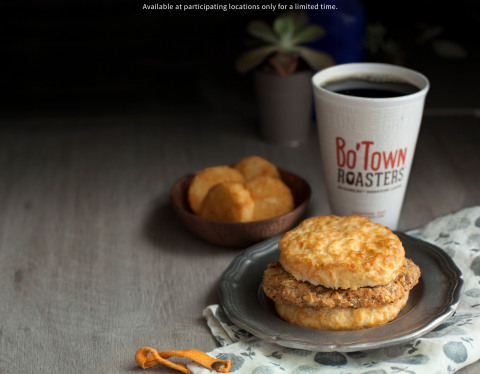 Bojangles' country fried Steak Biscuit combo is one of three delicious $4 biscuit combos available a ...