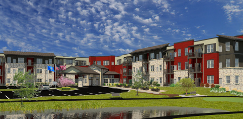 A rendering of Hamilton House, a $23 million, 110-unit independent living, assisted living and memory care campus in Cedarburg, Wisconsin (Photo: Business Wire)