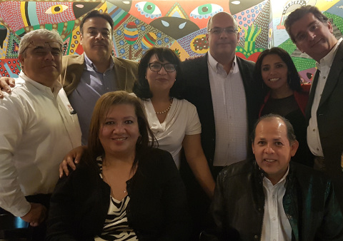 The Valco Melton team in Mexico City. (Photo: Business Wire)