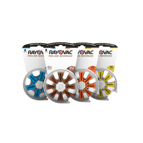 Rayovac PRO LINE® Advanced (Photo: Business Wire)