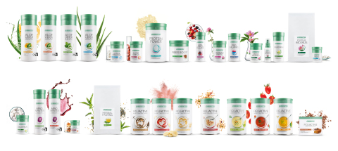 The LR Lifetakt product range. Photo: LR Health & Beauty