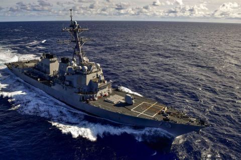 BAE Systems has received a $41.6 million contract from the U.S. Navy to modernize the Arleigh Burke-class guided-missile destroyer USS Oscar Austin (DDG 79) at the company's shipyard in Norfolk, Virginia, the ship's homeport. (Photo: U.S. Navy)