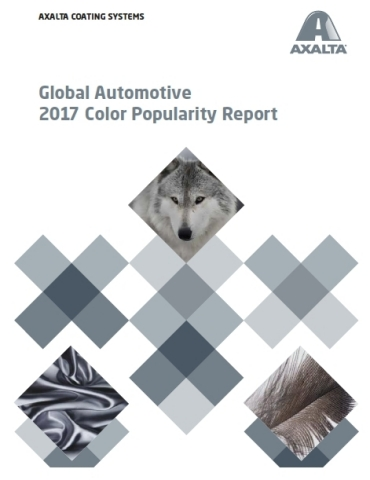 Axalta's 65th Annual Global Automotive 2017 Color Popularity Report Reveals White as Number One Colo ...