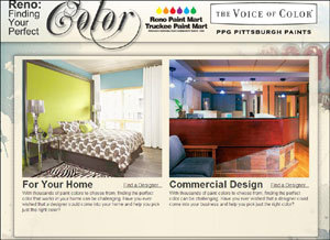 Reno Paint Mart >> Designers Partner With Ppg Pittsburgh Paints To Launch In