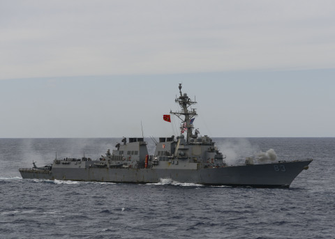 BAE Systems has received a $47.8 million contract from the U.S. Navy to modernize the Arleigh Burke-class guided-missile destroyer USS Howard (DDG 83) at the company's shipyard in San Diego, the ship's homeport. (Photo: U.S. Navy)