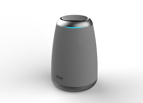 Cleer Space Smart Speaker with Alibaba AI Voice Service Support (Photo: Business Wire)