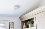 With its ceiling installation, the device provides consumers with a superior sound experience in their homes through a natural acoustic backdrop. (Photo: Business Wire)