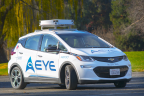 AEye demonstrates its solid state, iDAR-based robotic perception system for autonomous vehicles (Photo: Business Wire)