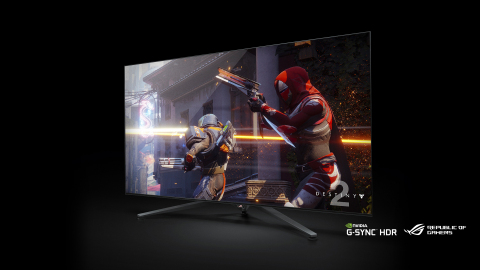 65-inch 4K UHD Republic of Gamers (ROG) Swift PG65 big format gaming display (BFGD) with NVIDIA® G-S ...