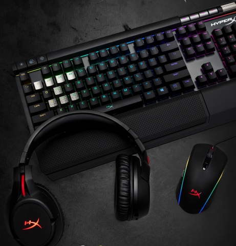 CES 2018: HyperX Expands High-Performance Gaming Line with First Wireless Headset and New Suite of R ...