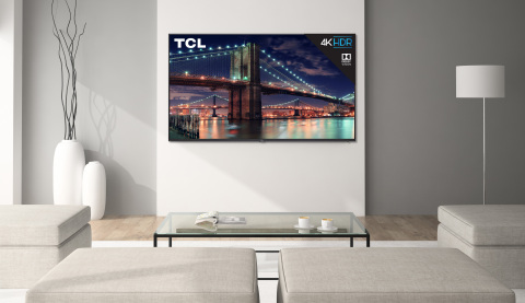 The new TCL 6-Series will combine stunning 4K high dynamic range picture performance and powerful stealth metal design for a superior TV experience. (Photo: Business Wire)