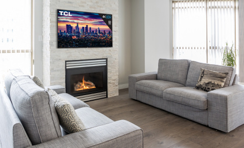 TCL's totally new 5-Series marries superior 4K UHD picture quality with Dolby Vision for a stellar imaging experience. (Photo: Business Wire)