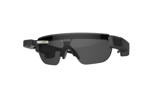 New Generation SOLOS® Smart Glasses for Cyclists and Runners. (Photo: Business Wire)
