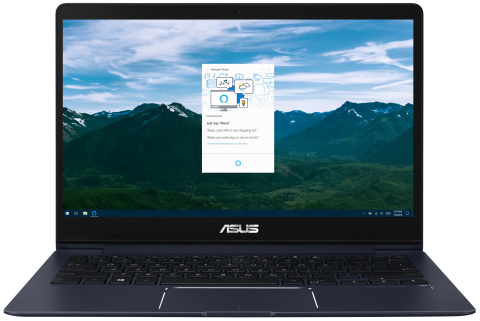 Select models ASUS ZenBook and VivoBook laptops will feature support for Amazon Alexa. (Photo: Business Wire)