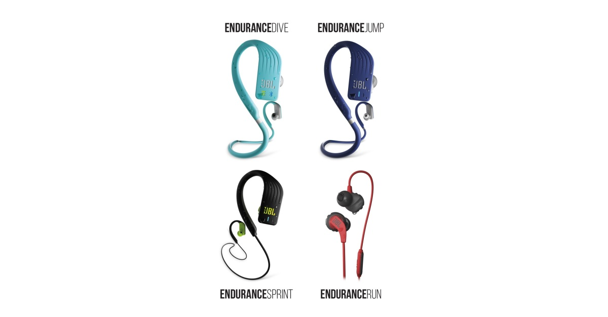 c207cb421be RUN, SPRINT, JUMP, DIVE: JBL® Introduces Endurance Headphones for Every  Sport | Business Wire