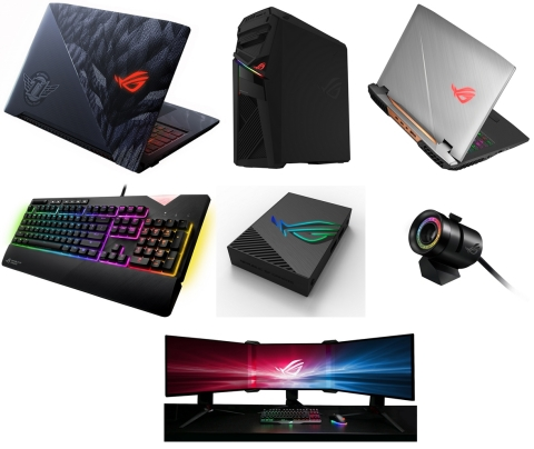 ASUS Republic of Gamers Showcases Latest Gaming Lineup at CES 2018: ROG Strix SKT T1 Hero Edition la ...