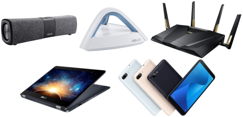 ASUS Showcases New Connectivity Devices at CES 2018: Lyra and 802.11ax networking devices, NovaGo la ...