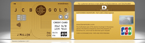 The Dynamics Inc and JCB Wallet Card™ (Photo: Business Wire)