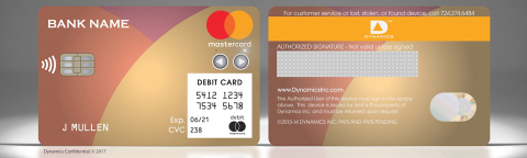 The Dynamics Inc and Mastercard Wallet Card™ (Photo: Business Wire)