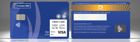The Dynamics Inc and Emirates NBD Wallet Card™