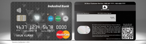 The Dynamics Inc and IndusInd pay with credit, pay with points and pay with rewards card - Points (Photo: Business Wire)