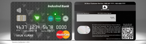 The Dynamics Inc and IndusInd pay with credit, pay with points and pay with rewards card - Rewards (Photo: Business Wire)