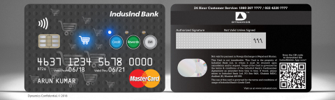 The Dynamics Inc and IndusInd pay with credit, pay with points and pay with rewards card - Credit (Photo: Business Wire)