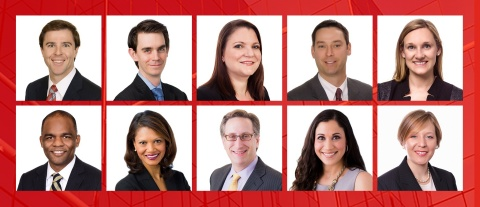 Norton Rose Fulbright promoted 10 US lawyers to partner on Jan. 1. They are Beau Cox (top row, from  ...
