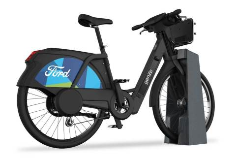 Motivate will launch a pilot program adding 250 Ford GoBike-branded GenZe electric bicycles to its bikeshare fleet in San Francisco, beginning April 2018. (Photo: Business Wire)