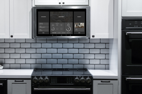 GE Appliances' kitchen hub provides access to recipes that will impress family. (Photo: GE Appliances, a Haier company)
