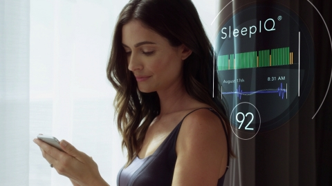 Sleep Number, the Leader in Sleep Innovation, Unveils the Future of Health and Wellness at CES 2018 (Photo: Sleep Number).