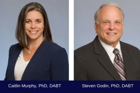 Caitlin Murphy, PhD, DABT and Steven Godin, PhD, DABT (Photo: Business Wire)
