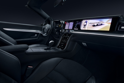 Samsung and Harman Unveil Connected Car (Photo: Business Wire)