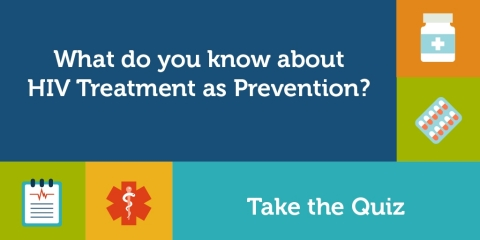 Take the Illinois HIV Care Connect Treatment As Prevention Quiz (Graphic: Business Wire)