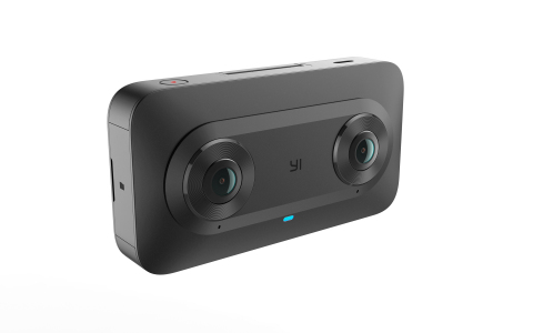 With an intuitive and sleek design, the YI Horizon VR180 Camera gives users an easy way to capture h ...