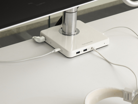 Humanscale Introduces M/Connect 2 and M/Power at CES (Photo: Business Wire)