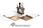 Introducing Proofgrade materials from Glowforge, with smart coding and protective masking for perfect results. (Photo: Business Wire)