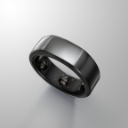 Pictured is Oura Health's new Oura smart ring, which utilizes Cypress Semiconductor's PSoC 6 BLE microcontroller to deliver week-long battery life. (Photo: Business Wire)