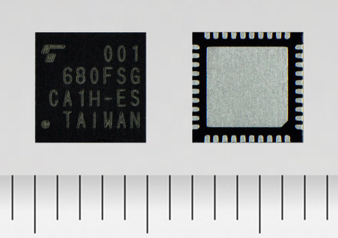 東芝デバイス&ストレージ(株):Bluetooth(R) low energy Ver.5.0規格準拠の新製品「TC35680FSG」(写真:ビジネスワイヤ)