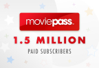 MoviePass Surpasses 1.5 Million Subscribers (Photo: Business Wire)