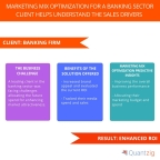 Marketing Mix Optimization for a Leading Banking Sector Client Helps Understand the Sales Drivers and Enhance ROI (Graphic: Business Wire)