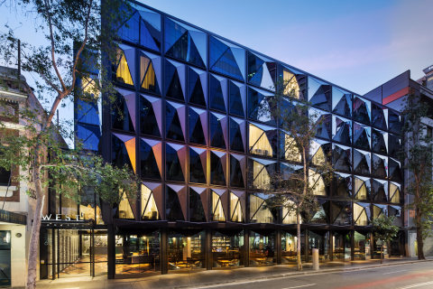 Australia's first Curio Collection by Hilton, the botanical-inspired West Hotel Sydney, is an urban  ...
