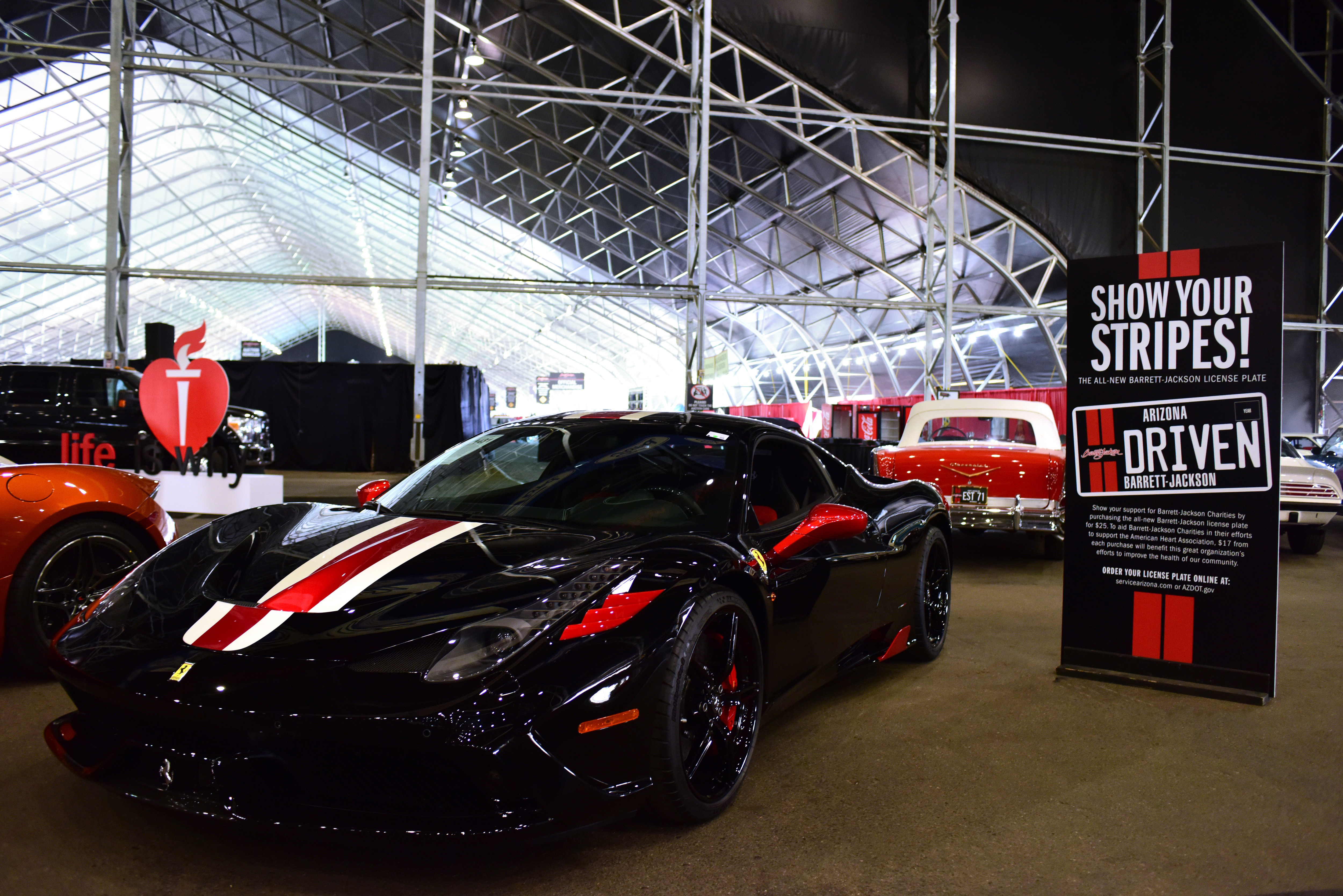 BarrettJackson Is Gearing Up For FirstEver Yearlong Charity - Barrett jackson car show scottsdale