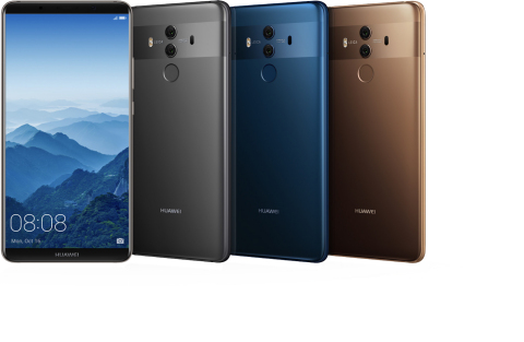 Welcome to the New Era of Connectivity: Huawei to Launch Mate 10 Pro in February in the U.S., World's First Hybrid Smart Home Network Solution (Photo: Business Wire)