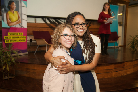 "Ahead of the theatrical release of ""A Wrinkle in Time"" on March 9, 2018, Oscar® nominee Ava DuVernay helped JetBlue and Girls in Tech kick-off the ""Even More Girls - In Tech"" empowerment initiative. (Photo: Business Wire)"
