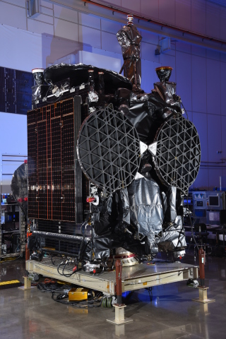 GovSat-1. Photo credit: Orbital ATK