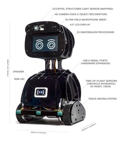 Misty I Developer Edition Prototype from Misty Robotics (Photo: Business Wire)